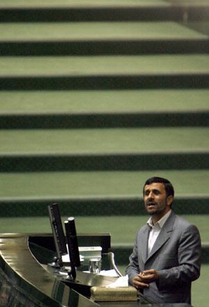 El presidente iraní Mahmoud Ahmadineyad. (Foto: EFE)