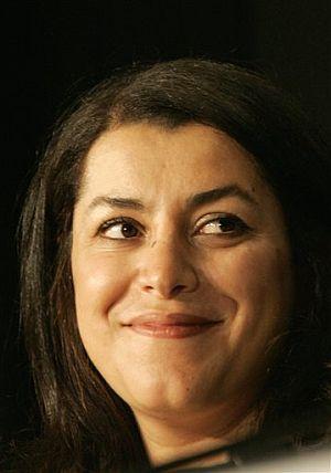 Marjane Satrapi, directora de 'Persépolis'. (Foto: AP)