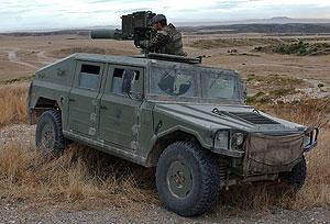 Imagen de un vehículo VAMTC. (Foto: EFE)