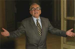 Gabriel García Márquez será uno de los primeros pasajeros de 'el tren amarillo'. (Foto: QUIQUE GARCIA)