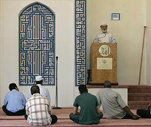 Interior de una mezquita en Palmira (Siria). (Foto: AP)
