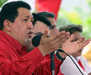 El mandatario venezolano, durante un discurso en La Guaira. (Foto: AFP)