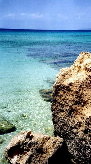 Éste podría ser el escenario del anuncio, en Formentera. (Foto: EFE)