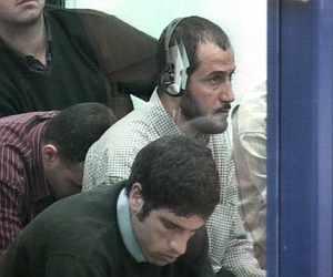 """Rabei Osman El Sayed """"El Egipcio"""" (con auriculares), durante el juicio. (Foto: EFE)"""