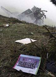 62 militares españoles murieron al estrellarse el avión ucranian. (AFP)