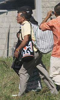 Granda, a su salida de prisión. (Foto: EFE)