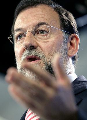 El lídel del PP, Mariano Rajoy. (Foto: EFE)