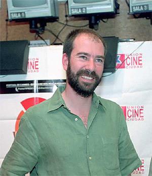 El director de cine Jaime Rosales, invitado de honor a este foro. (Foto: J. Morón)