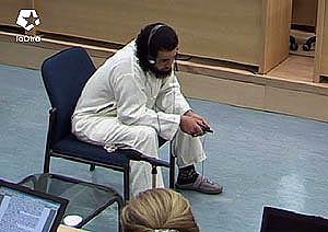 Kamal Ahbar, testificando ante el tribunal del 11-M el pasado 4 de mayo. (Foto: LaOtra)