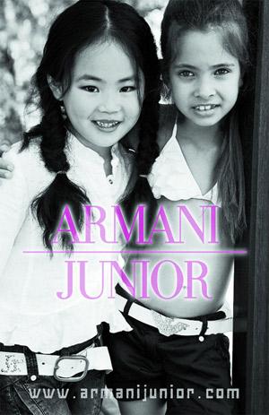 Este anuncio de Armani levantó polémica por el uso que hace de los menores. (Foto: Armani)
