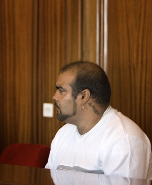 Ricardo S.A. durante el juicio. (Foto: EFE)