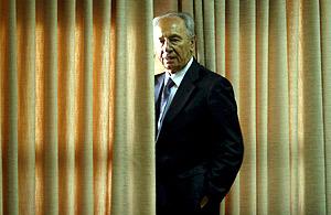 El candidato por el Kadima, Simon Peres. (Foto: EFE)