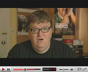 Michael Moore, en YouTube.