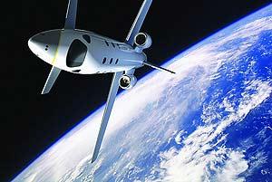 Dibujo del avión de EADS. (Foto: EADS)
