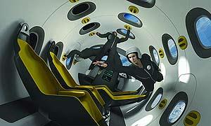 El interior de la nave ha sido diseñado por Marc Newson. (Foto: EADS)