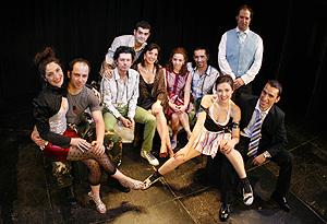 Grupo de actores de La Ronda. (Foto: Crearte)