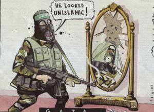 Viñeta sobre la situación en Gaza publicada en el diario 'The Times'.