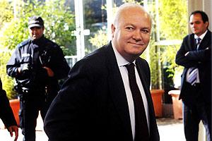 El ministro de Exteriores, Miguel Ángel Moratinos, en el consejo de la UE. (Foto: AP)