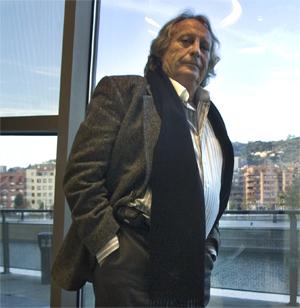 Alberto Vázquez Figueroa es uno de los escritores estrella de la editorial El Andén. (Foto: IÑAKI ANDRÉS)