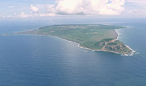 La isla de Iwo Jima, ahora llamada Iwo To. (Foto: AP)