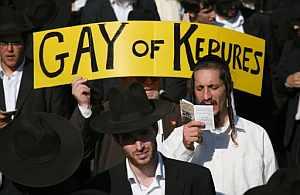 Judíos ortodoxos protestan en Jersusalén. (Foto: AFP)