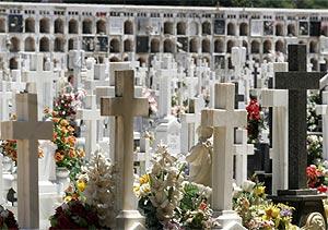 Imagen del cementerio de San Fernando. (Foto: C. Márquez)