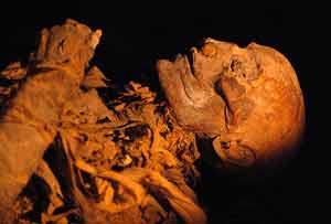 La momia de Hatshepsut. (Foto: AFP)