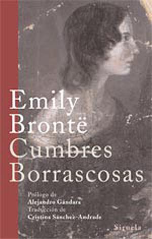 Portada de 'Cumbres Borrascosas'. Edición Siruela.