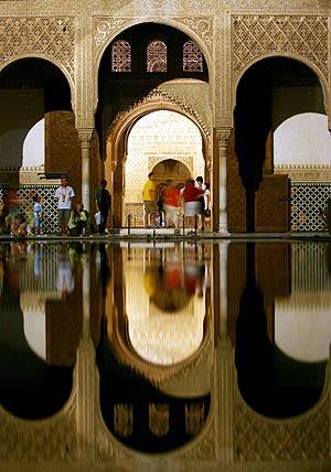 Fotografía de La Alhambra. (Foto: AFP)