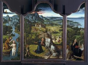 'Tríptico con San Jerónimo penitente' de Patinir. (Foto: elmundo)