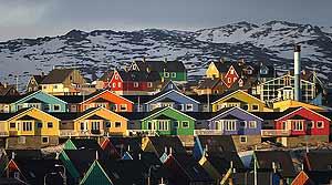 Una ciudad de Groenlandia, en la actualidad. (Foto:Reuters)