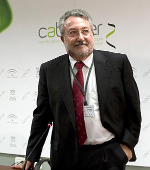 Bernat Soria en una imagen tomada en Sevilla. (Foto: EFE)
