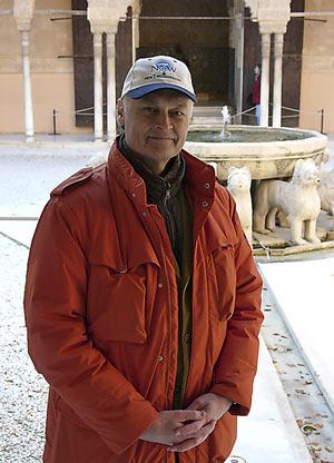 El padre de la iniciativa de las Siete Maravillas. (Foto: EL MUNDO)