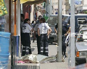 Un hombre, que acababa de salir de prisión, mató a su ex mujer en una zona de Melilla. (EFE)