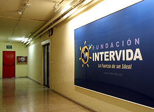 Sede de Intervida en Barcelona. (Foto: EFE)