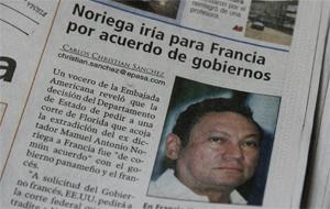Un periódico de Panamá del mes de Julio. (Foto: AP)