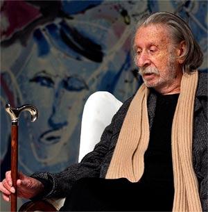 ... los más destacados directores del teatro alemán. George Tabori en una  foto de archivo de 2004. (Foto  EFE) b103c6b7b51