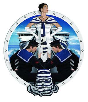 Cartel de la exposición 'Sailor Chic'. (Foto: EFE)