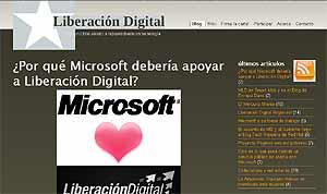 Imagen del blog de 'Liberaciondigital.org'.