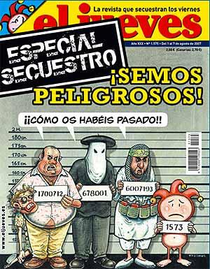 Portada del número especial de 'El Jueves'. (www.eljueves.es)