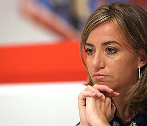 Carme Chacón, ministra de Vivienda. (Foto: EFE)