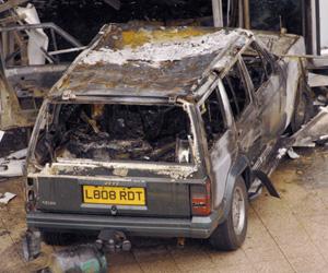 El coche que utilizaron los terroristas para el atentado. (Foto: REUTERS)