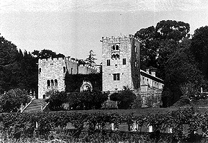 Imagen de archivo del Pazo de Meirás, lugar elegido por Francisco Franco para pasar sus vacaciones. (Foto: Castro Bal)