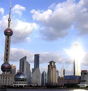 El distrito financiero de Shangahi. (Foto: J. Nito)