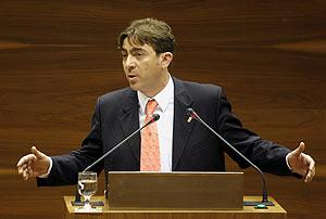 El portavoz del PSN, Roberto Jiménez. (Foto: EFE)