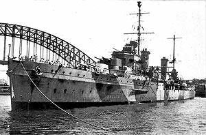Imagen de archivo del 'HMAS Sydney' en el puerto de la ciudad. (Foto: AFP)
