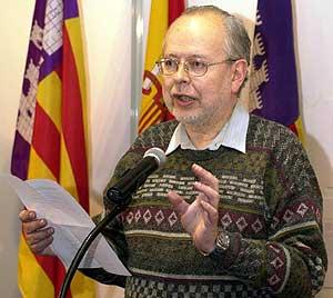 Lluís María Xirinacs, en una imagen de 2001. (Foto: EFE)