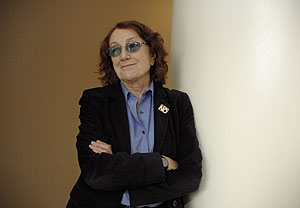 Rosa Regàs, escritora y directora de la Biblioteca Nacional. (Foto: P. Corral)