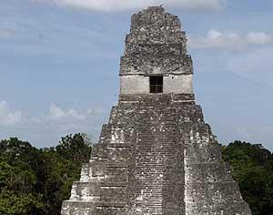 Pirámide maya de Tikal , Guatemala (EFE)