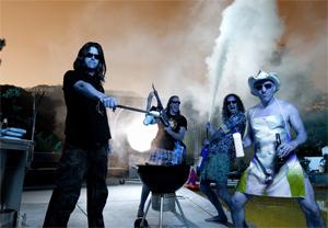 El grupo Tool, presente en el festival. (Foto: EL MUNDO)